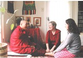 When Santa Rinpoche Came to Town